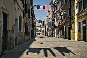 Venice without people
