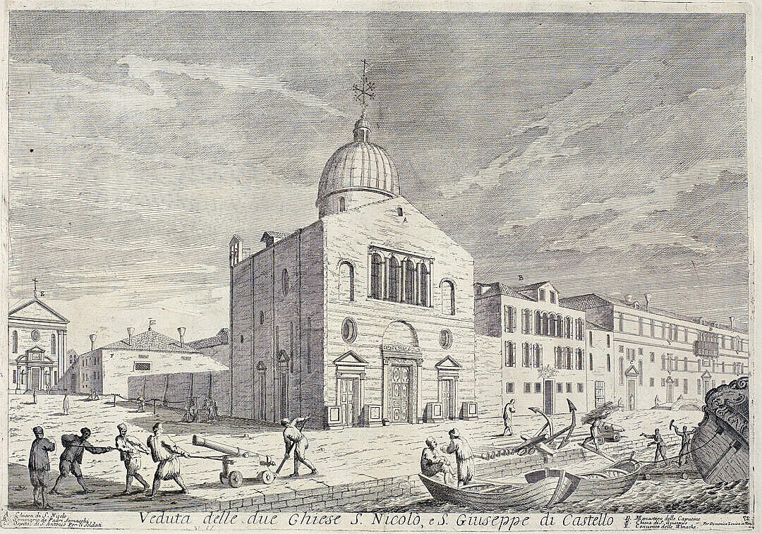 The church of San Nicolò di Castello (now demolished)